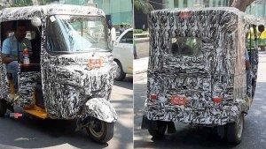 Bajaj Electric Auto Rickshaw Spied Range Testing In Bangalore — Expected Launch Soon