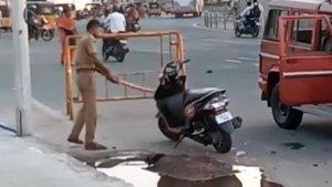 Chennai Cops Vandalise Honda Dio — Police Duo Suspended