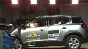 Citroen C5 Aircross Euro NCAP Crash Test Results Revealed — Gets Four-Star Safety Rating