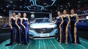 India-bound MG eZS Electric SUV Showcased At Bangkok Motor Show