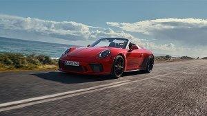 2019 New York Auto Show: Production-Spec Porsche 911 Speedster Revealed