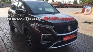MG Hector Spied Undisguised For The First Time — India-Launch Later This Year