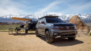Volkswagen Atlas Basecamp Concept Looks Ready To Go Off-Road