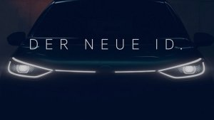 Volkswagen Teases Production-Spec ID Electric Hatchback