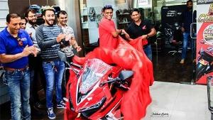 Honda CBR650R Deliveries Begin In India