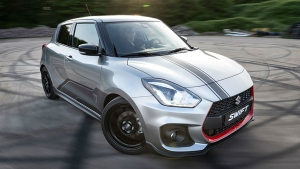 Suzuki Swift Sport Katana Edition Revealed — Looks Tasty & Goes Fast!