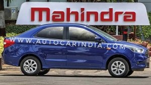 Ford Aspire Electric Sedan To Be Powered By Mahindra Electric Drivetrain