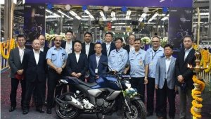 India Yamaha Motor Reaches 10 Million Units Produced Milestone