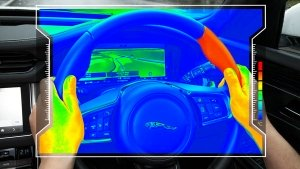 Jaguar Land Rover Reveals Steering Wheel That Heats Up & Cools Down To Direct Driver