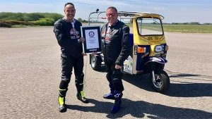 Fastest Auto-Rickshaw In The World: 119.5 KM/H Gives English Businessman The Record