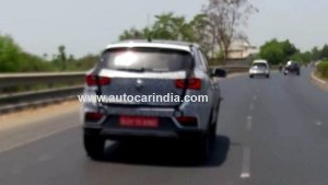 MG eZS Electric SUV Spotted Testing In India; To Be Launched In December 2019