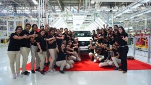 MG Motors Commence Production Of Hector SUV — First SUV Rolls Off Production Line