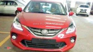 Toyota Glanza Interiors Spied — Exactly The Same As The Maruti Baleno
