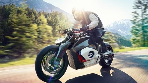 BMW Motorrad Unveils All Electric Vision DC Roadster Concept — The Future Is Now