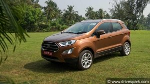 Ford EcoSport Variants List Gets Shuffled —Titanium+ Variant Loses Out On Several Features