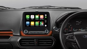 Ford EcoSport Titanium+ AT Loses The Sync3 Infotainment System With Voice Command