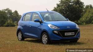 Hyundai Santro Receives New Base Variant — Starting Prices Increased By Rs 25,000