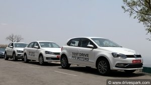 Volkswagen Drive Organised In Bangalore — Hill Climbing With The Volkswagen Fleet