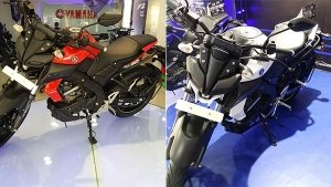 Yamaha MT-15 With Three New Colours Spotted At Dealership; To Be launched Soon