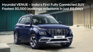 Hyundai Venue Demand Off The Charts — 50,000 Bookings & 18,000 Deliveries Since Launch
