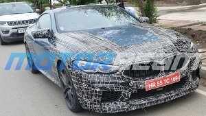 BMW 8 Series Spied Testing In Indian For The First Time — Looks Bigger That Its Sibling