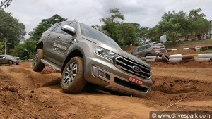 Ford Endeavour Off-Road Drive Experience: The Big, Bulky SUV Surprises With Its Capabilities