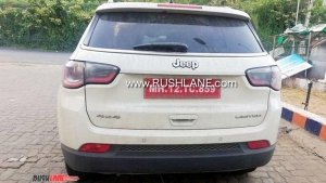 Jeep Testing A BS-VI Complaint Compass Limited 4 X 4 Automatic — Launch Expected Late This Year