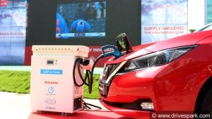 Nissan Leaf EV Showcased In Bangalore — Powers The ICC World Cup 2019 Semi-Finals Live Streaming