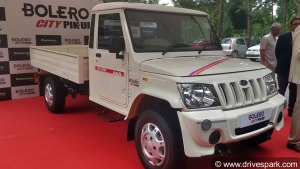 New Mahindra Bolero City Pik-Up Launched In India: Priced At Rs 6.25 Lakh