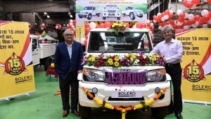 Mahindra Bolero Pick-Up Range Crosses 15 Lakh Production Units Milestone