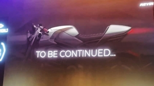 Revolt Cafe Racer Electric Motorcycle Teased: Will Be The Next Model From Revolt Motors