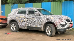 Tata Cassini (7-Seater Harrier) SUV Spied Yet Again Ahead Of Launch In Late-2019