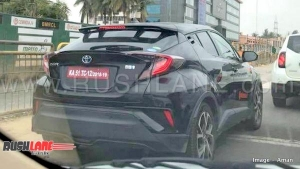 Toyota C-HR Hybrid SUV Spied Testing In India: Another Hybrid For Indian Market?