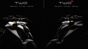 Emflux Two And Two+ Electric Motorcycle Teaser Reveals Performance And Range Figures