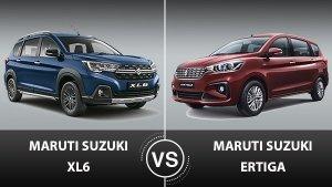 Maruti Suzuki XL6 Vs Maruti Suzuki Ertiga: What Are The Differences?