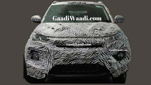 New Tata Nexon Facelift Spied For The First Time Ahead Of Its Launch In India
