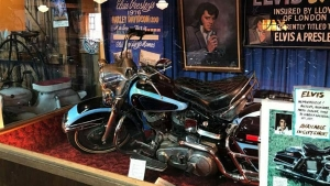 Elvis Presley's 1976 Harley-Davidson Becomes Third Most-Expensive Motorcycle In Auction