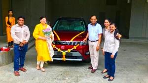 Mahindra MD Pawan Goenka Buys His First Car In 26 Years — A Mahindra XUV300 AMT