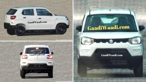 Maruti Suzuki S-Presso Exterior Design Spied Undisguised Ahead Of Launch: Spy Pics & Details