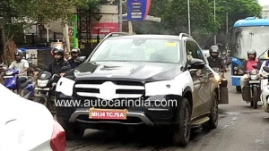 New Mercedes-Benz GLE Spotted Testing In India Ahead Of Launch: Spy Pics & Details