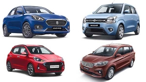 Top-Selling Cars In India In August 2019: Maruti Dzire Overtakes Swift & WagonR To Take The Top-Slot