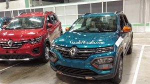 New Renault Kwid Climber Facelift Spied Undisguised Ahead Of Launch In India: Spy Pics & Details
