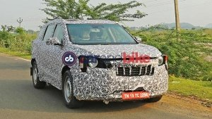 New Mahindra S204 (Seven-Seater XUV300) Spied Testing In India: Spy Pics & Details