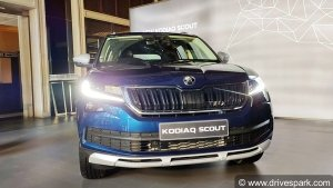 New Skoda Kodiaq Scout Launched In India: Priced At Rs 34 Lakh