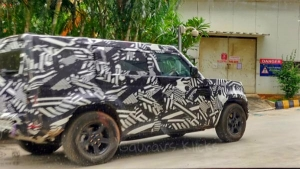 2020 Land Rover Defender Spied Testing Ahead Of Launch In India: Spy Pics & Details