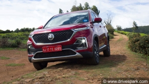 MG Hector Registers 2,608 Units Of Sales In September 2019: Production To Increase Soon