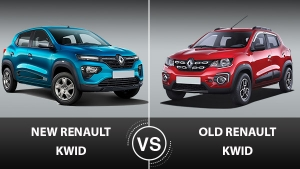 New Renault Kwid Vs Old Kwid: Here Are All The Major Differences Between Them