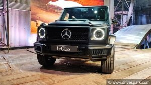 Mercedes-Benz G 350d Launched In India: Priced At Rs 1.5 Crore