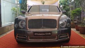 Bentley Mulsanne EWB Centenary Edition Delivered In Karnataka