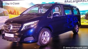 Mercedes-Benz V-Class Elite Launching In India: New Top-Spec Trim To Rival Toyota Vellfire
